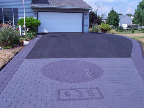 Stamped Asphalt Br Kreider And Son