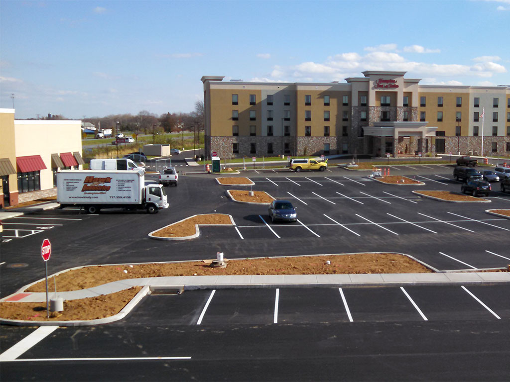 Donegal Square paving project