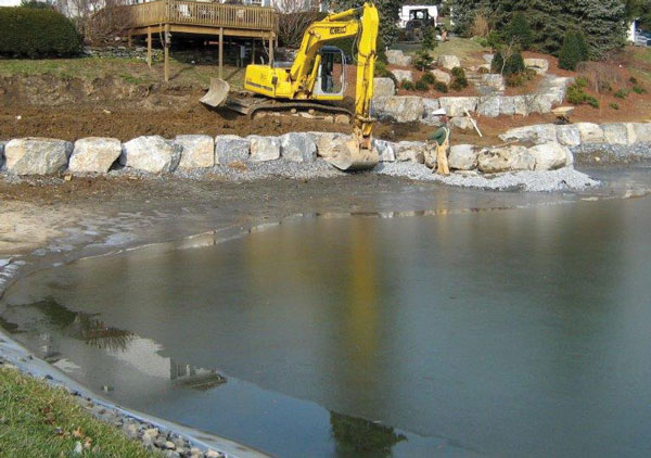 Build a custom pond