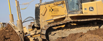 Excavating services testimonial for B.R. Kreider